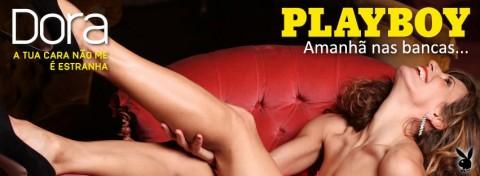 Dora fez um nu integral em fevereiro para a Playboy