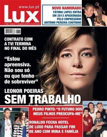 Lux Leonor poeiras contrato TVI