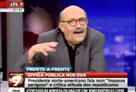 Alfredo Barroso Alfredo Barroso Critica Diretor Da Sic Notícias: «Foi Ele Que Correu Comigo, Ainda Que Diga Que É Muito Meu Amigo»
