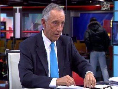 Marcelo Rebelo De Sousa E1487413128995 Redação Da Tvi Celebra Golo Do Sporting E Interrompe Comentário De Marcelo Rebelo De Sousa