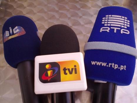 Canais RTP SIC TVI Televisão
