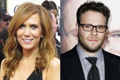 Kristen Wiig e Seth Rogen Kristen Wiig e Seth Rogen participarão na comédia «Arrested Development»
