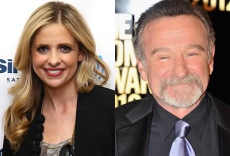Sarah Michelle Gellar E Robin Williams Sarah Michelle Gellar Co-Protagonizará Com Robin Williams Um Episódio Piloto Da Cbs