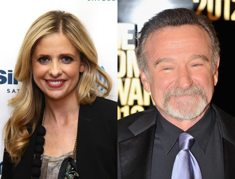 Sarah Michelle Gellar e Robin Williams