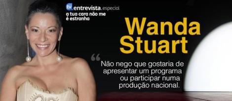 Wanda Stuart Notícia A Entrevista - Wanda Stuart