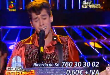 Ricardo Sa Ricardo De Sá Vence Terceira Gala De «A Tua Cara Não Me É Estranha 3»