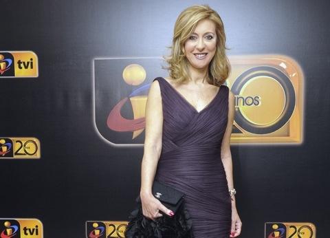 Judite Sousa informação TVI jornal das 8 oito