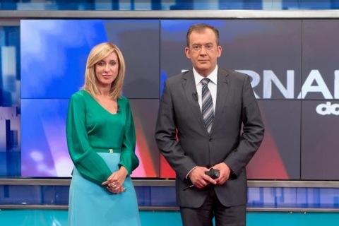 Informação TVI jornal das 8 oito jose Alberto Carvalho e Judite Sousa