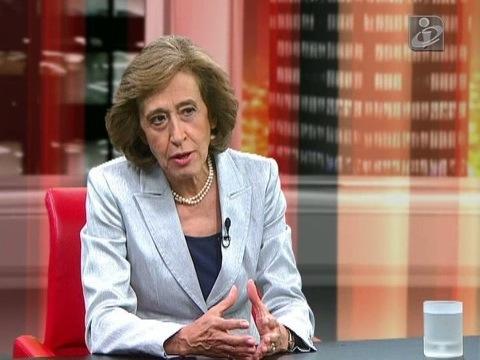 Manuela Ferreira leite TVI 24