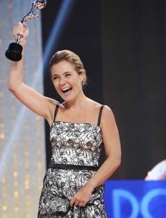 Adriana Esteves «Domingão Do Faustão» Apresenta Os «Melhores Do Ano 2012»