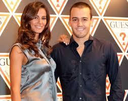 Cláudia Vieira e Pedro Teixeira
