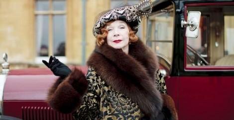 Martha Levinson Downton Abbey Shirley MacLaine regressa para a quarta temporada de «Downton Abbey»