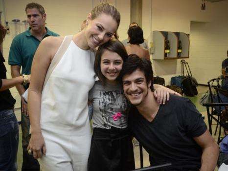 Paola Oliveira Mateus Solano Klara Castanho Amor à Vida