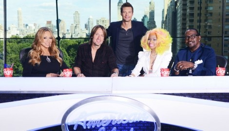 american idol season 12 judges minaj carey urban jackson «American Idol: Season 12» estreia na Fox Life