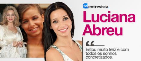 Artigo A Entrevista - Luciana Abreu
