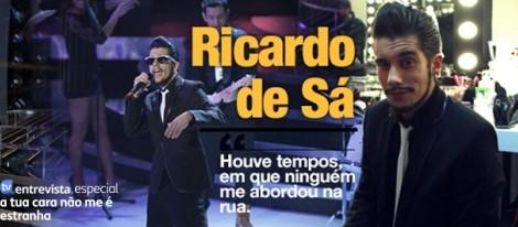 Artigo Ricardo Sá A Entrevista - Ricardo De Sá