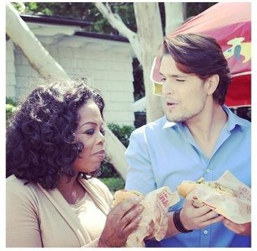 20130409 161717 As Primeiras Imagens De Diogo Morgado Com Oprah Winfrey