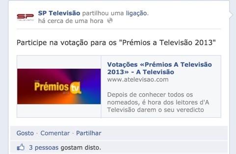 A produtora responsável pela maioria da ficção da RTP e da SIC publicou a votação promovida pel'aTV