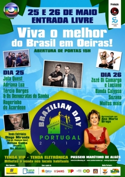 Brazilian Day Portugal 2013