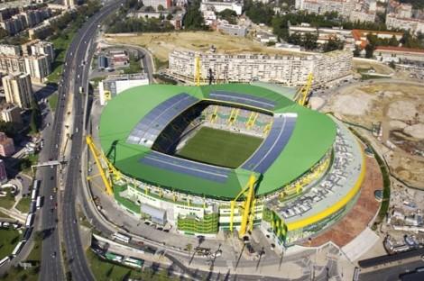 Estádio De Alvalade Vista Aerea Saiba Onde Pode Ver A Pré-Época Do Sporting Cp