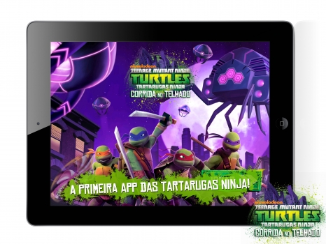Nickelodeon app mobile TMNT CORRIDA NO TELHADO PT
