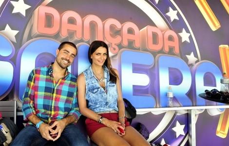 Ricardo Pereira Fernanda Motta Dança Da Galera Ricardo Pereira Estreia-Se Na «Dança Da Galera» Do «Domingão Do Faustão»
