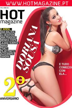 Doriana Sousa, ex-concorrente da primeira edição de «Secret Story», é a capa deste  mês da Hot Magazine.