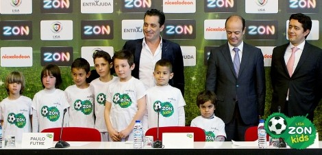 Liga Zon Kids Paulo Futre Paulo Futre Protagoniza Campanha Liga Zon Kids