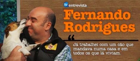 notícia A Entrevista - Fernando Rodrigues