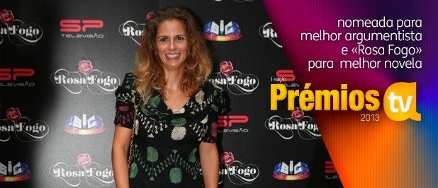Patrícia Muller comentou as nomeações para Melhor Argumentista e Melhor Novela com Rosa Fogo