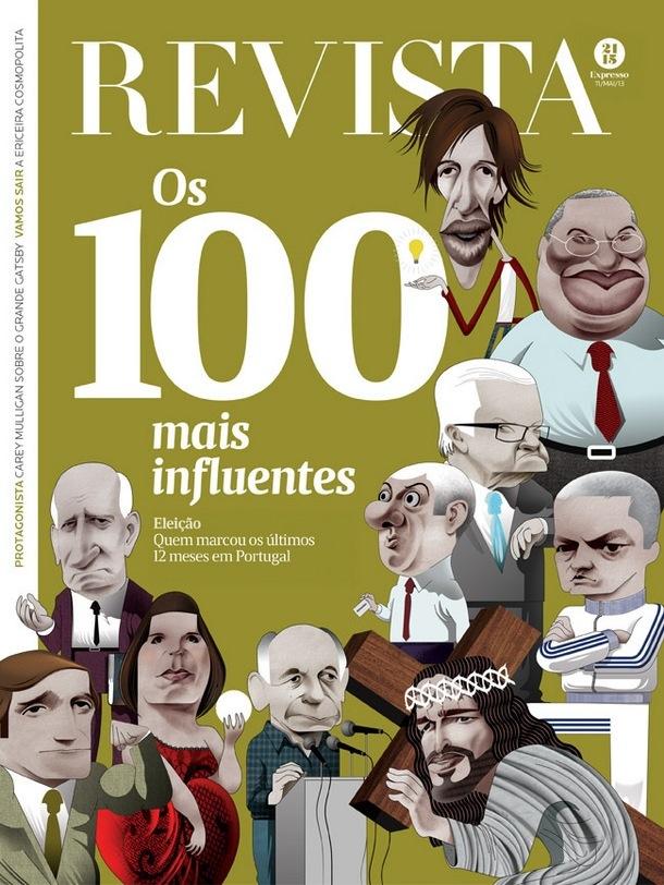 Esta foi a capa do último suplemento do jornal Expresso
