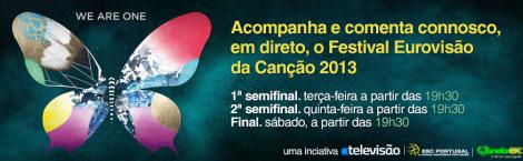 Cover It Live Esc 2013 [At.] Iniciativa: Chat De Acompanhamento Do «Festival Eurovisão Da Canção 2013»