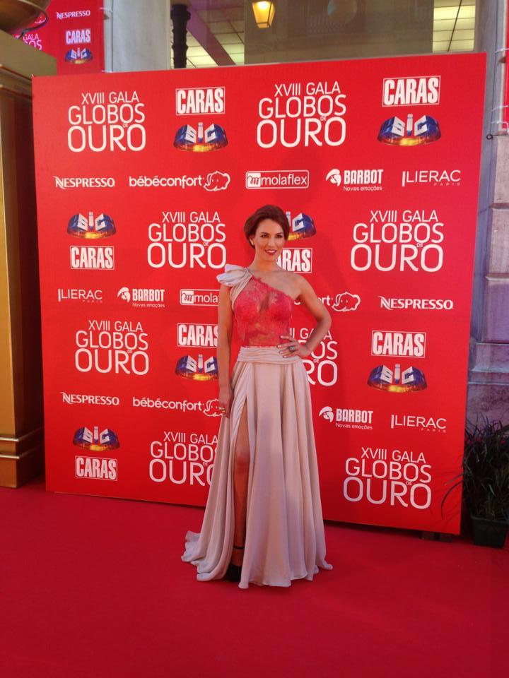 Ana Rita Clara, apresentadora.