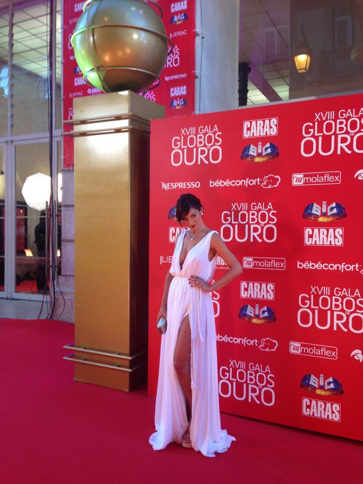 Andreia Rodrigues, apresentadora.