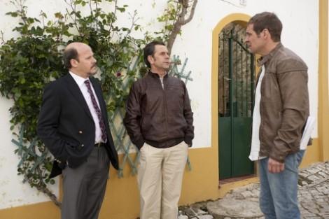 Fernando, Agostinho e Diogo. Foto: José Pinto Ribeiro