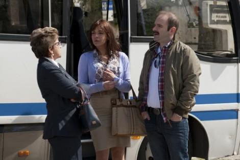Olga, Nazaré e Carlos. Foto: José Pinto Ribeiro