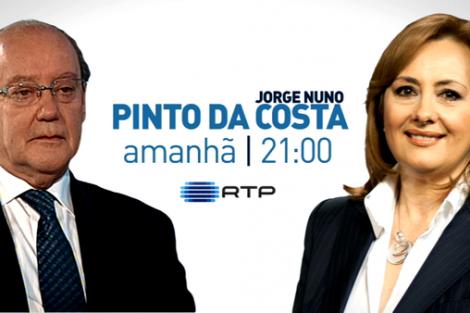 fatima ferreira pinto da costa entrevista «Pinto da Costa: A Entrevista» vista por 775 mil