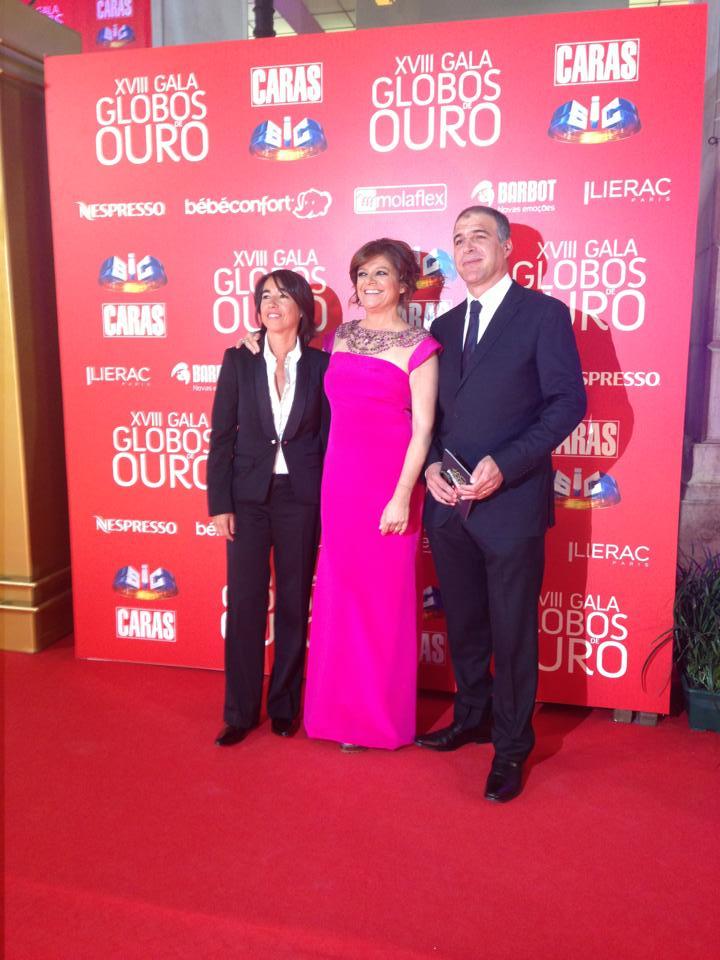 Gabriela Sobral, Júlia Pinheiro e Rodrigo Guedes Carvalho.