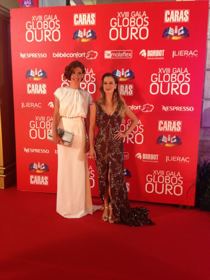 Inês Castelo Branco e Margarida Vila-Nova, atrizes