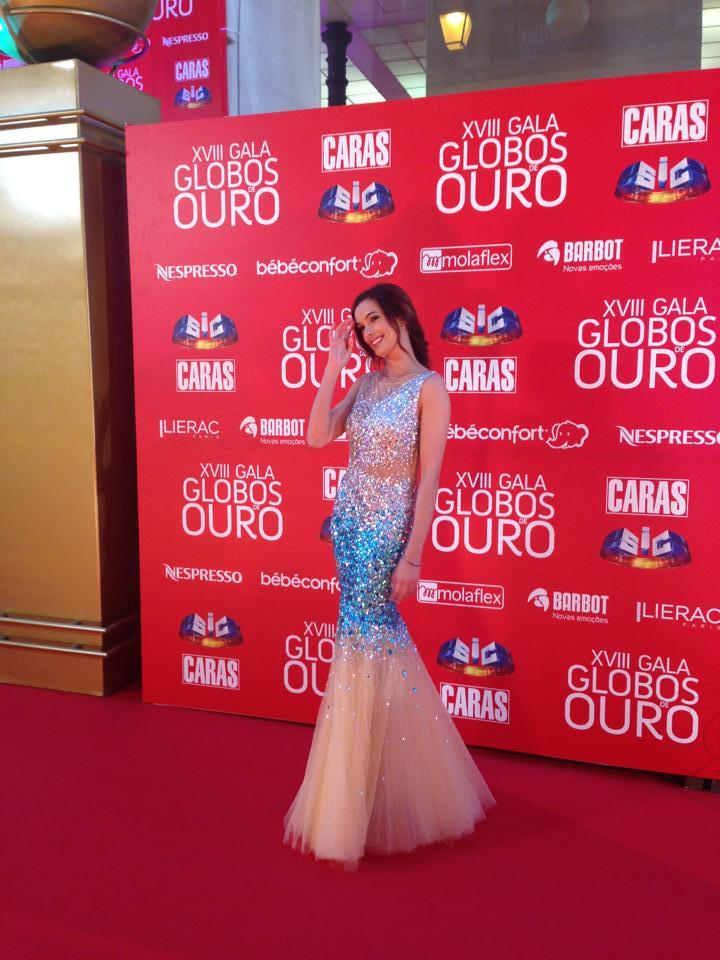 Iva Lamarão, apresentadora.