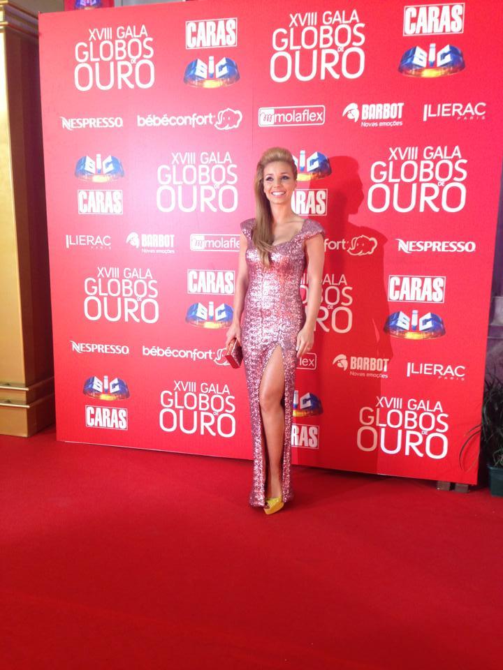 Luciana Abreu, atriz, cantora.