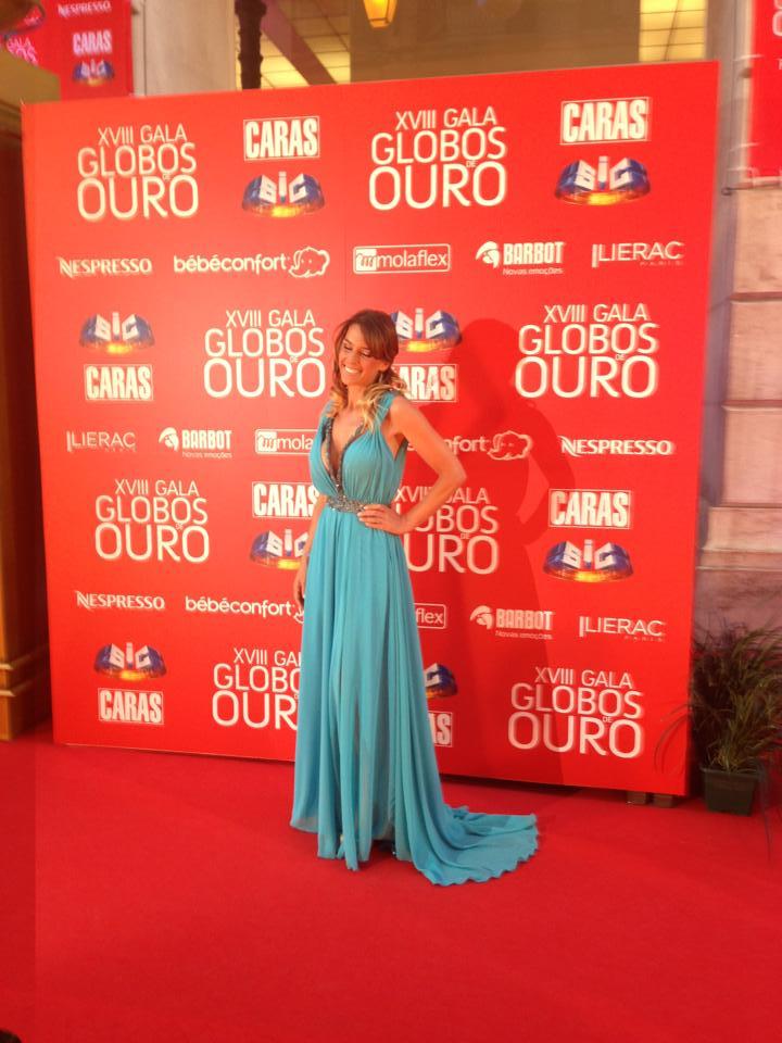 Rita Andrade, apresentadora.