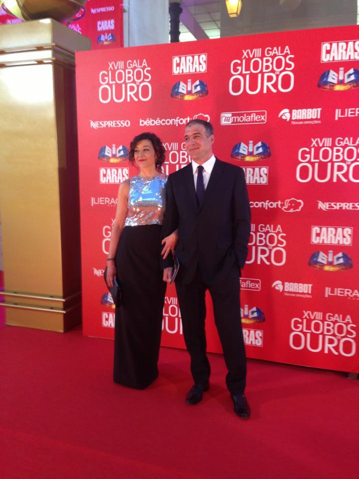 Rodrigo Guedes de Carvalho e Teresa Dimas, pivot