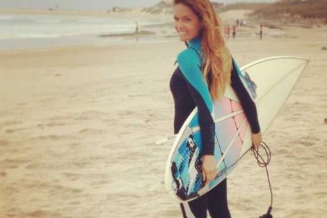 Chaves Surfista Diana Chaves Sem Medo De Se Expor Fisicamente Em «Ambição»