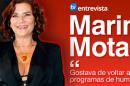 Notícia Marina Mota A Entrevista - Marina Mota