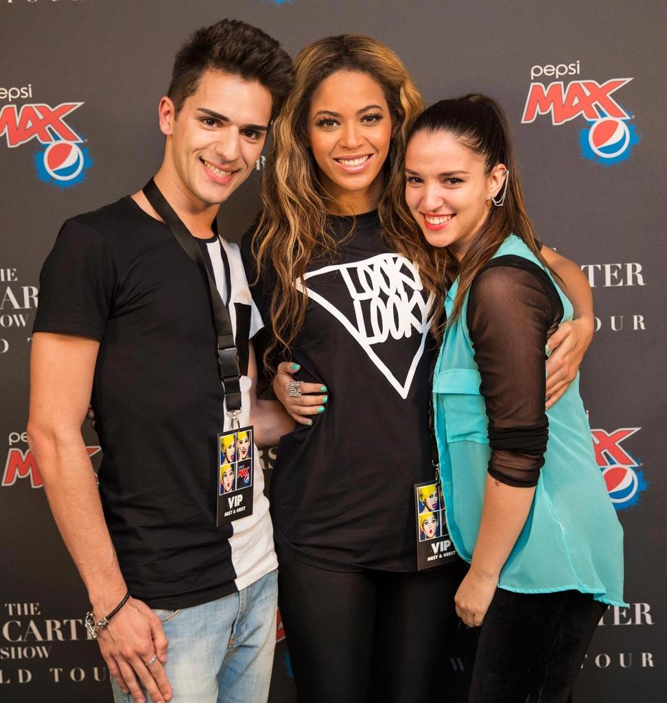 Pepsiwinnermain2 Participante De «Família Superstar» Conhece Beyoncé