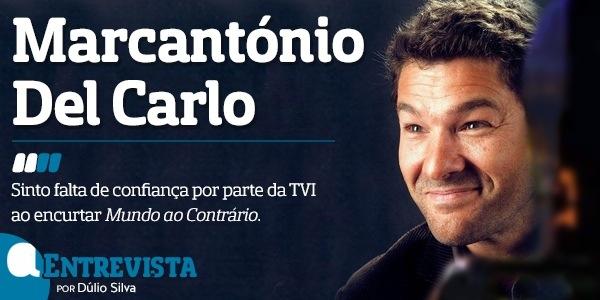 A entrevista marcantonio Del carlo