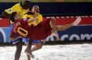 Mundialito Futebol de Praia Fim-de-semana de Futebol de Praia na TVI24