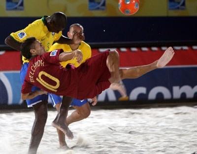 Mundialito Futebol de Praia «Mundialito de Futebol de Praia» é na RTP