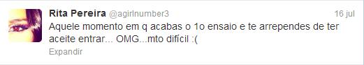 Rita Pereira Twitter
